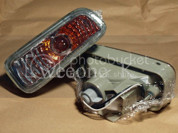 CRYSTAL FRONT BUMPER LIGHT LAMP