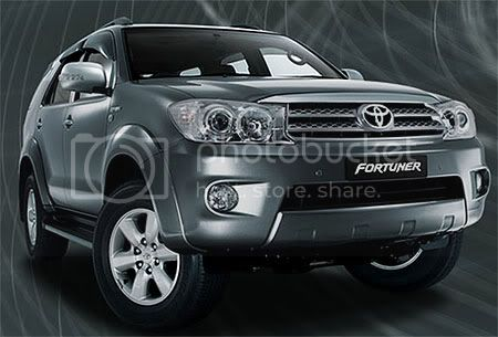 FORTUNER accessories
