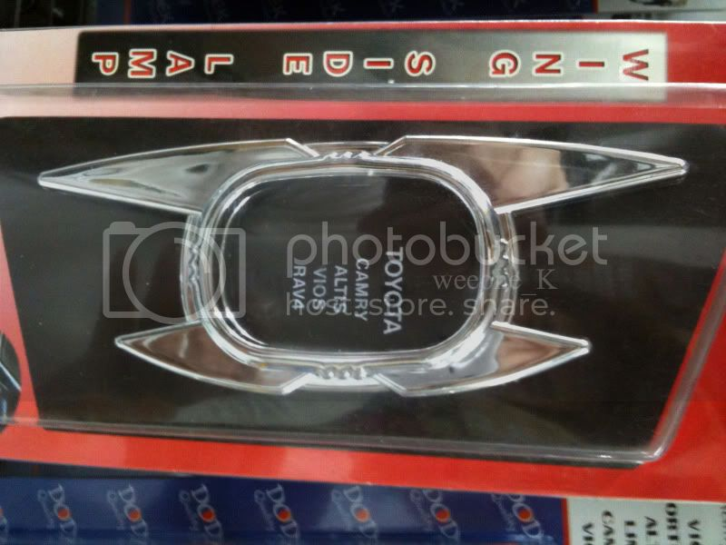 CHROME SIDE LAMP SURROUND TRIM TOYOTA ALTIS V.3