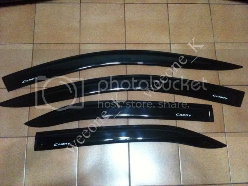 4 DOOR Visor Rain Guard